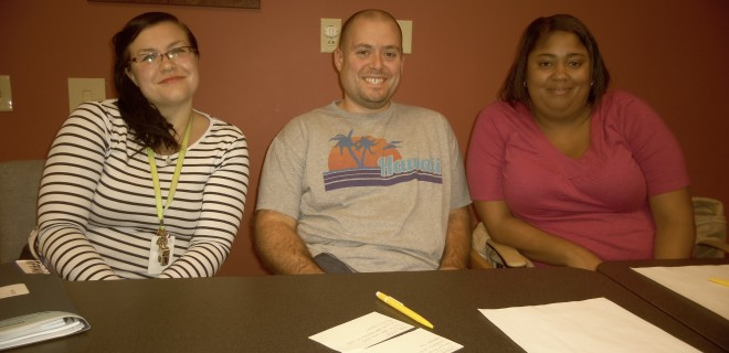 The Providence afterschool staff prepares to improve programming.