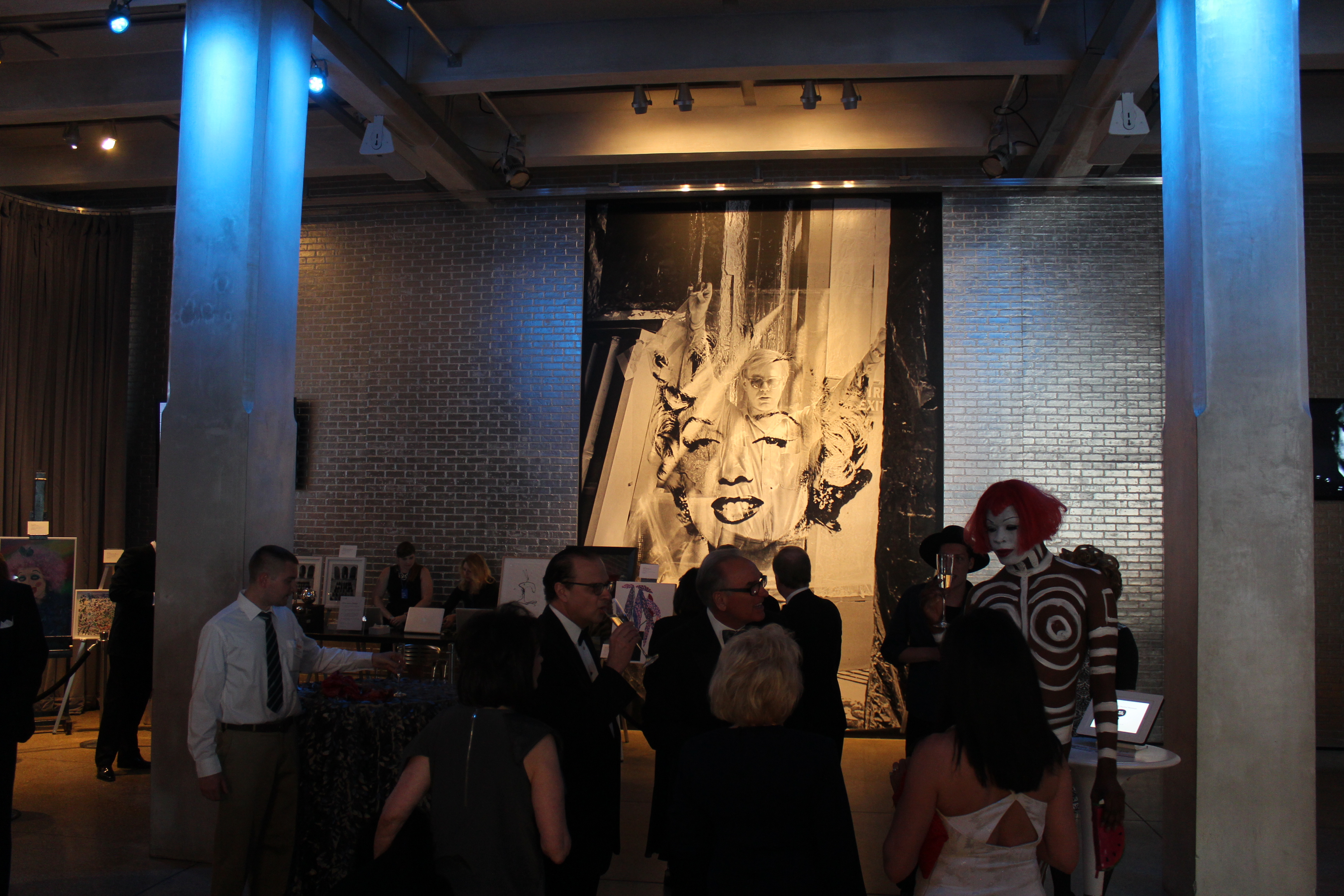 Warhol's anniversary party fruitful from 'beginning to end'