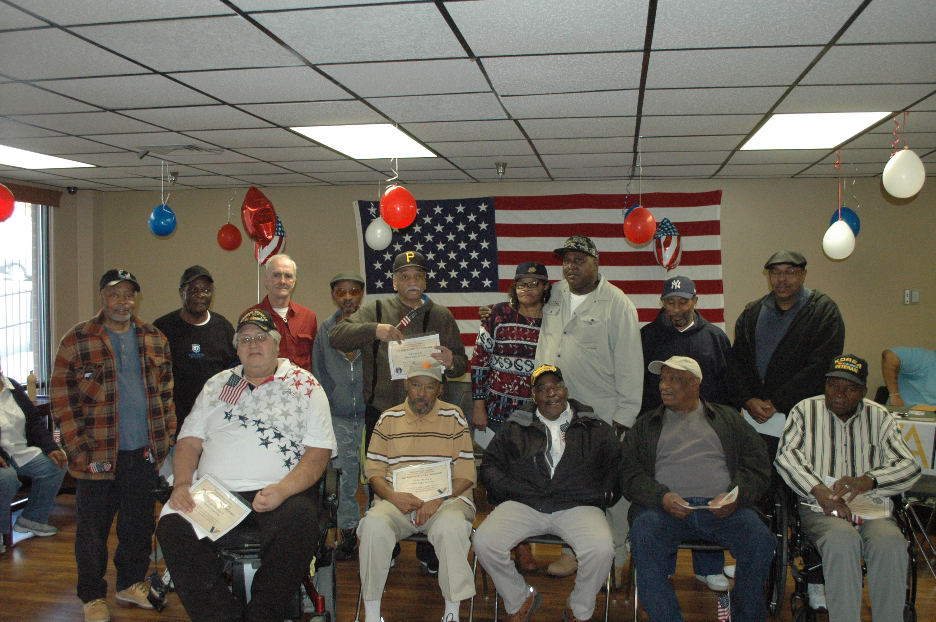 Vets honored in Perry Hilltop
