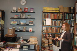 Photo by Justin Criado City Books owner Arlan Hess during the stores grand opening March 15.