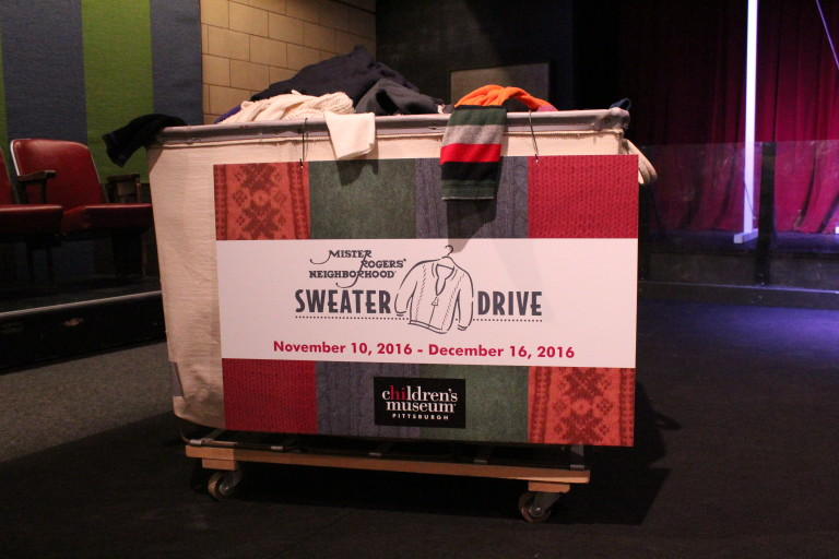 Children's Museum kicks off 17th Annual Mister Rogers' Sweater Drive