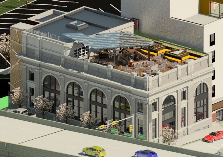 Priory's plan for old ARC House, Workingman's Savings Bank building