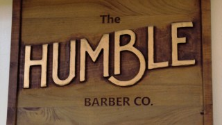 The Humble Barber Company Logo - photo credit Neil Strebig