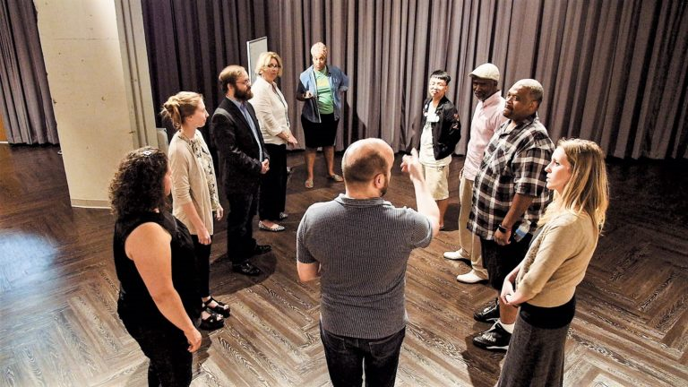 Improv becomes unlikely tool at Ignite Northside event