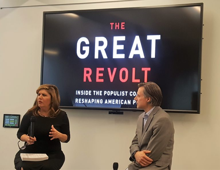 "Northsider Salena Zito promotes new book ""The Great Revolt"""