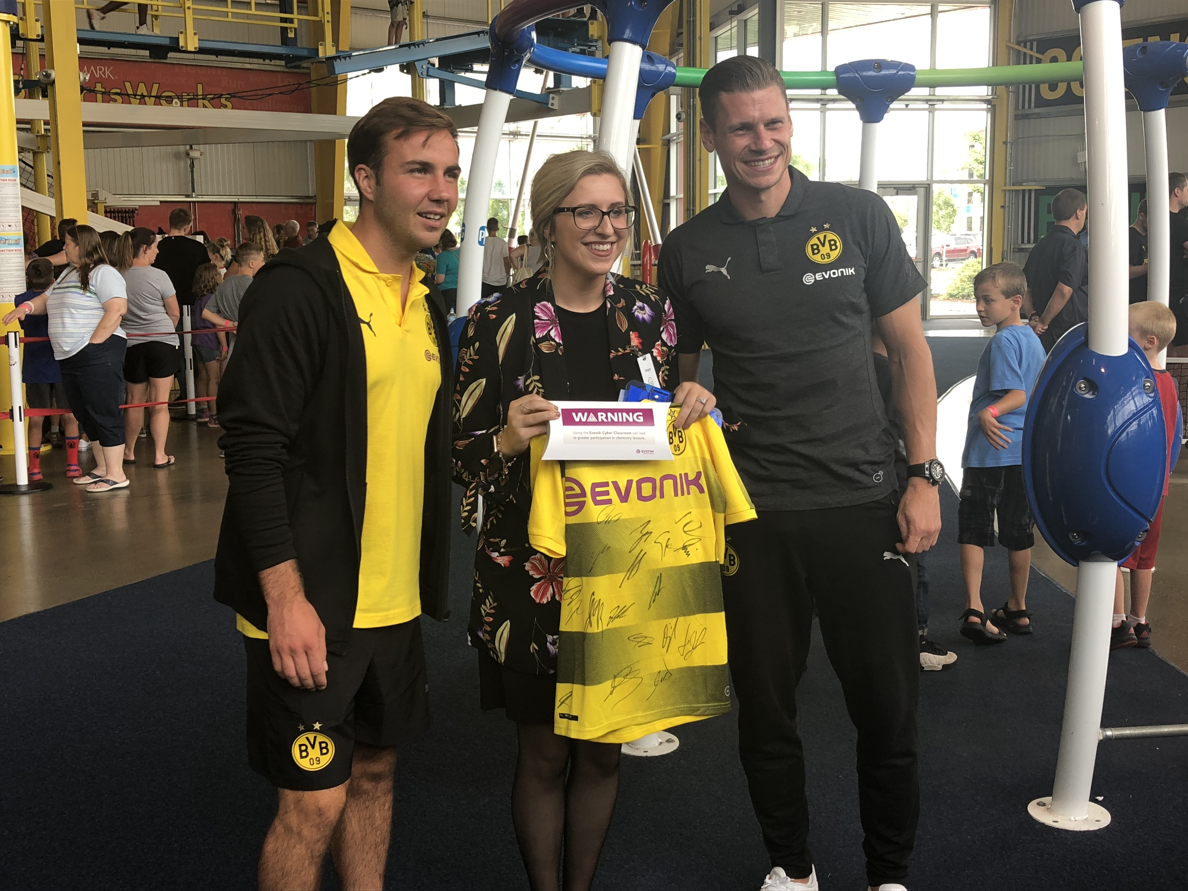 Borussia Dortmund visits the Carnegie Science Center – The Northside
