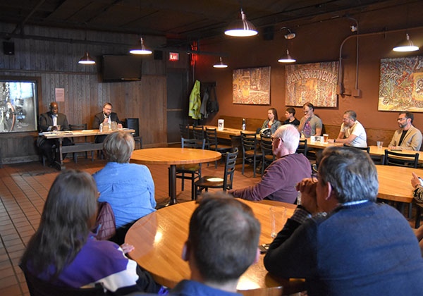 City Council candidates gather at Penn Brewery to discuss transportation issues