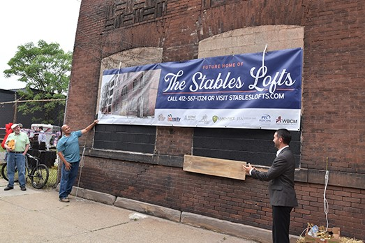 Apartment complex in historic Allegheny Stables building announced