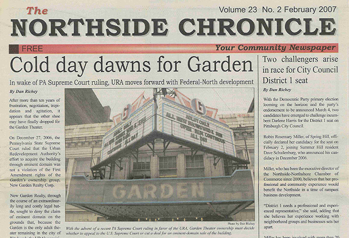 From the Archive: Cold day dawns for Garden