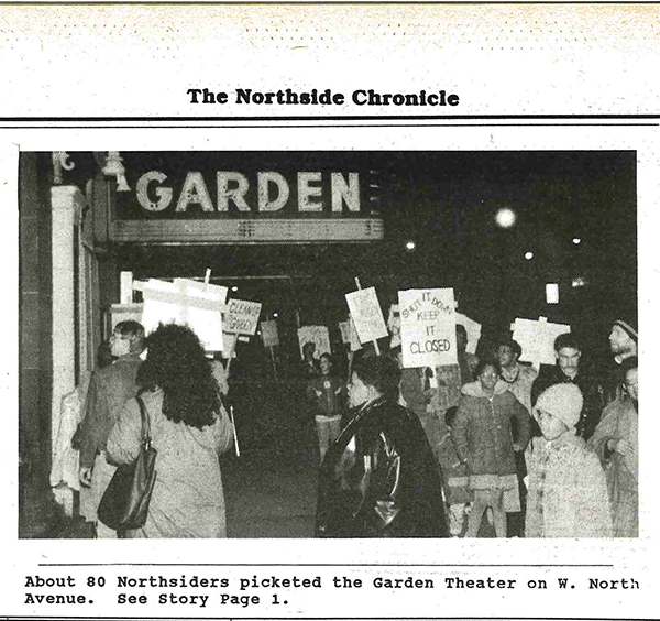 From the Archive: Neighborhood Groups Picket Garden Theater
