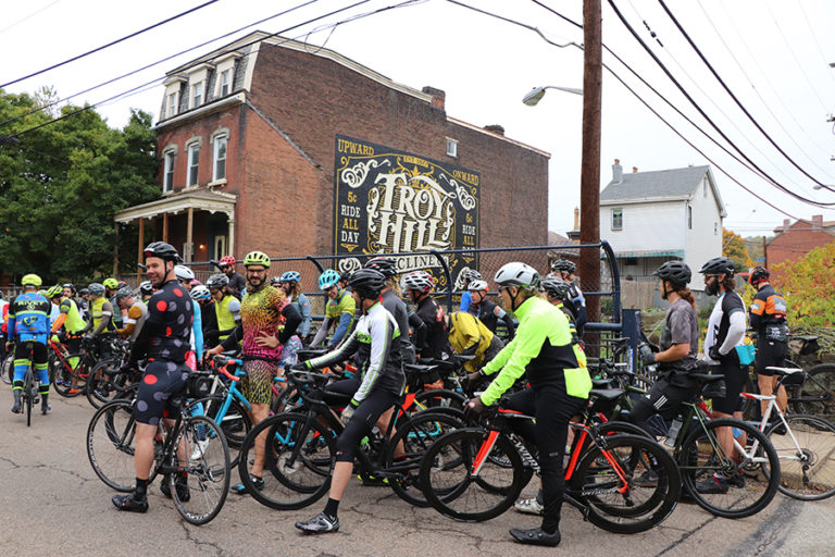 Dirty Dozen bicycle race passes through Troy Hill
