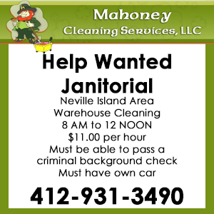 mahoney cleaning help wanted
