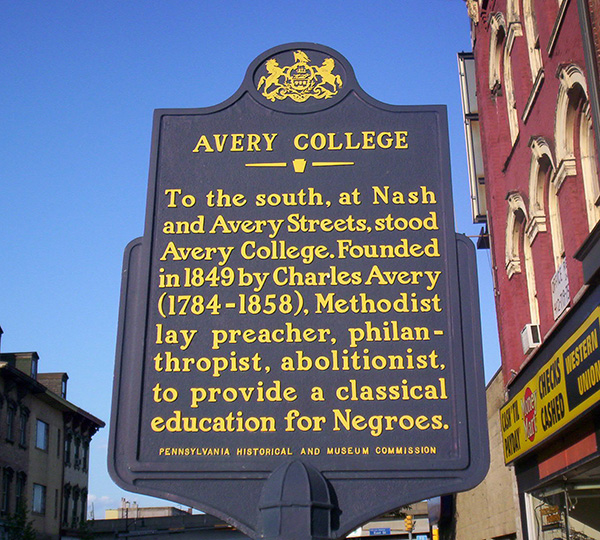 Pittsburgh's Northside celebrates Juneteenth with presentation at Avery College historical marker