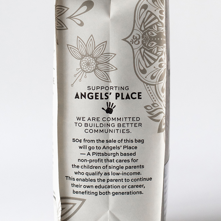 De Fer Coffee & Tea supports Angels' Place through sale of sustainable coffee bags