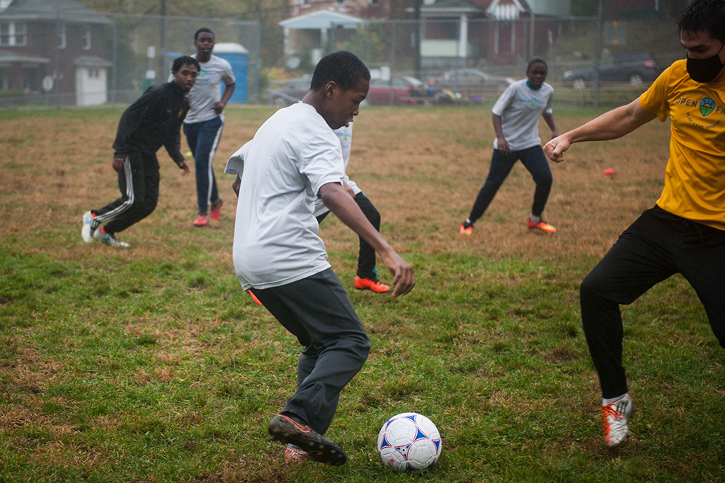 Open Field teaches youth life skills through soccer program in Northview Heights