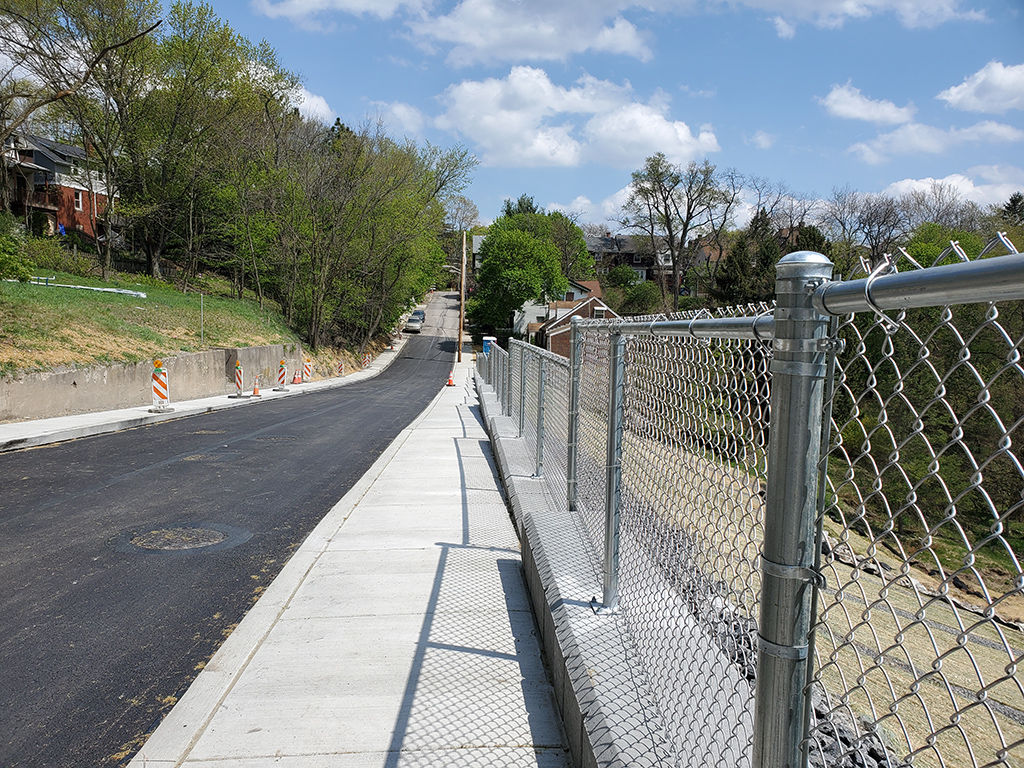 Semicir Street reopens after $1.18 million stabilization project