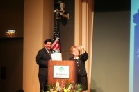 Mayor Bill Peduto and Debra Caplan
